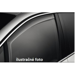 Peugeot 407 2004-2010r 4dv / 5dv - deflektory (predná sada)