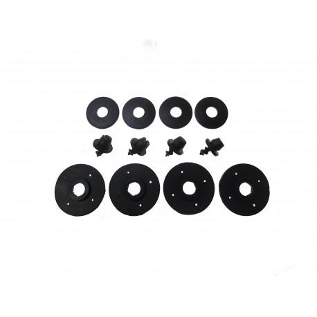 Fixácie Rezaw-plast Okrúhle Čierne – balenie