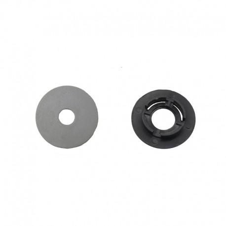 Fixátor okrúhly šedý - bez skrutky