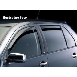 Peugeot 407 2004-2010r 5dv Combi - deflektory (celá sada)